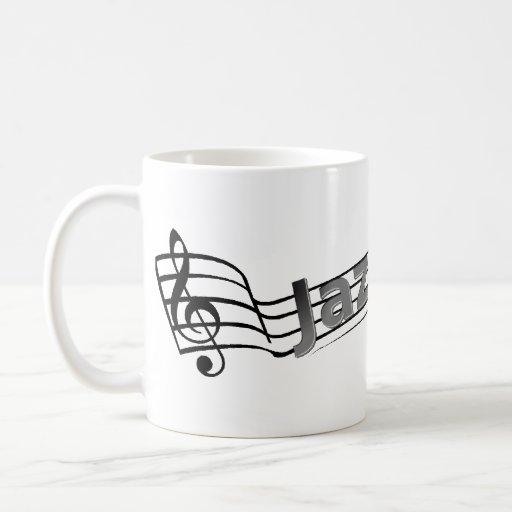 Jazz Staff Mug