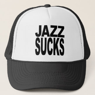 Jazz Sucks Trucker Hat