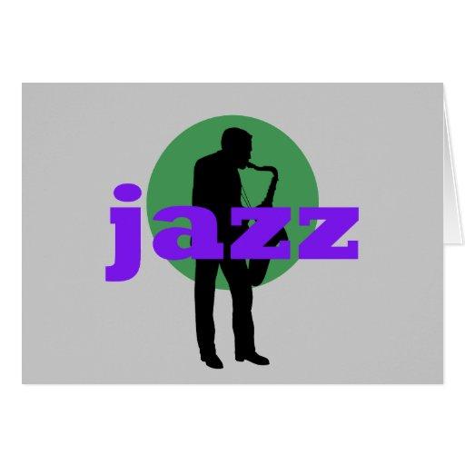 Jazz Tarjeta De Felicitación