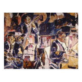 Jazz temprano tarjetas postales
