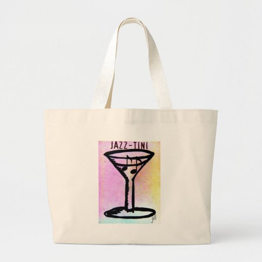 JAZZ=TINI print by jill Tote Bag