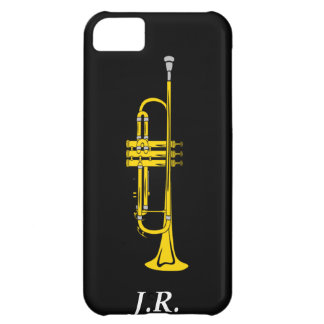Jazz Trumpet add your Initials case-mate  Iphone4 Cover For iPhone 5C