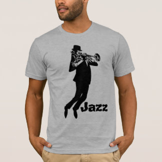Jazz Trumpet Man  T-Shirt