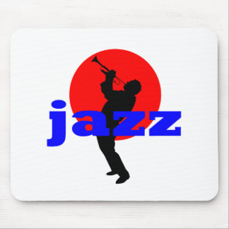 Jazz Trumpet Player Mouse Pad