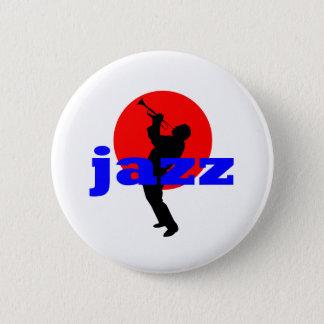 Jazz Trumpet Player Pinback Button