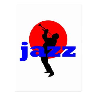 Jazz Trumpet Player Postcard