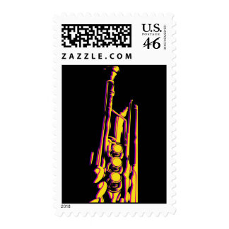 Jazz Trumpet Postage