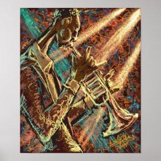 JAZZ Trumpet Posters