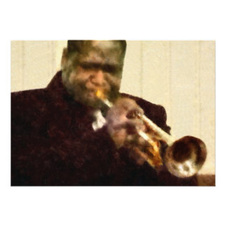 Jazz Trumpeter Custom Invites