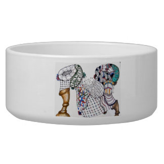 Jazz up your dog or cat's dish! bowl