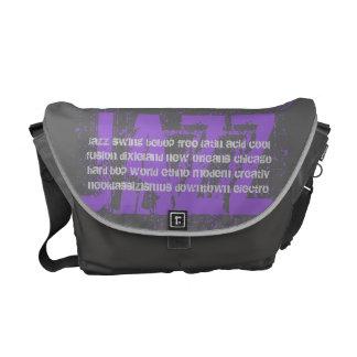 JAZZ - Uschi Brüning fan bag medium