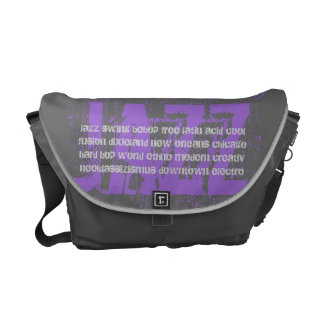 JAZZ - Uschi Brüning fan bag medium Messenger Bag