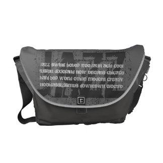 JAZZ - Uschi Brüning fan bag medium steel