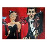 Jazz violin postcards