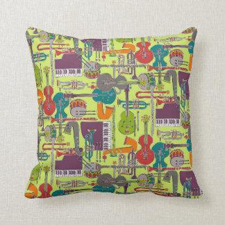 jazz weave multi throw pillow