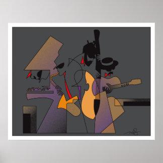 Jazz y Nightshades Poster