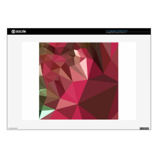 Jazzberry Jam Purple Abstract Low Polygon Backgrou Decals For Laptops