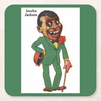 Jazzbo Jackson Square Paper Coaster