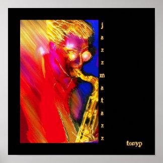 Jazzmatazz Poster