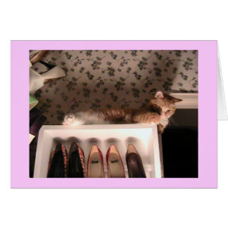 Jazzpurr's Shoes Card - Customized
