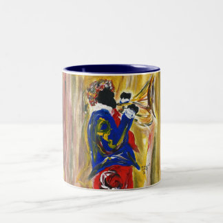 Jazzy 1 Two-Tone coffee mug