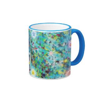 Jazzy Abstract Art coffee mug