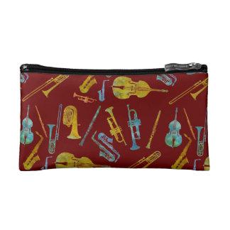 Jazzy Band Print Makeup Bags