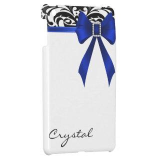 Jazzy Brocade Blue Bow Damask Mini Ipad Case