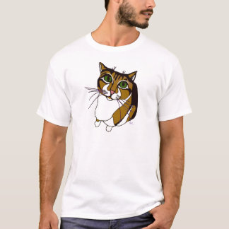 Jazzy Cat Basic T T-Shirt