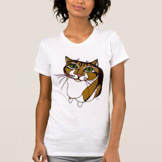 Jazzy Cat Womens T-shirt
