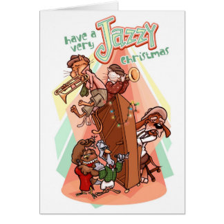 Jazzy Christmas Card