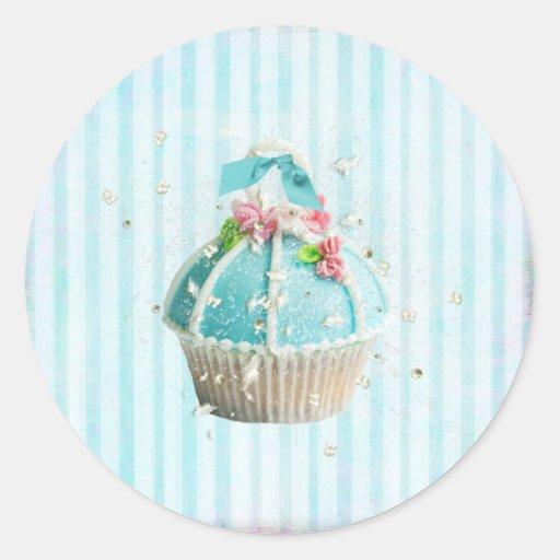 Jazzy Cupcake stickers