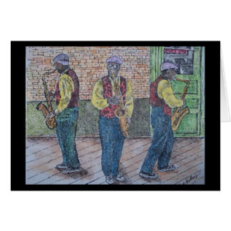 jazzy greeting card