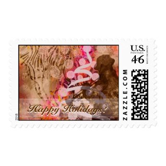 Jazzy Holidays Postage stamp