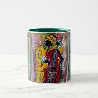 jazzy II Two-Tone Coffee Mug
