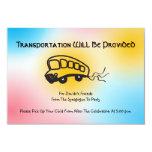 Jazzy Musical Transportation Mini Bus card
