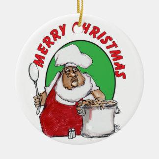 jazzy santa christmas ornaments