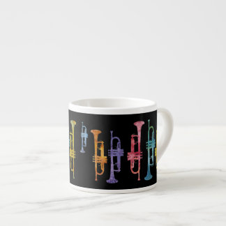 Jazzy Trumpets Espresso Cup