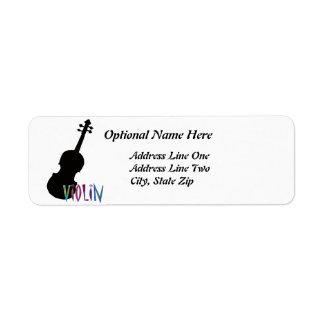 Jazzy Violin Label