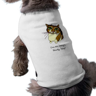 """""""Jazzy's Norty Step"""" Doggy T-Shirt"""