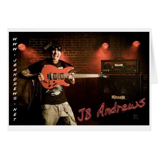JB Andrews Card