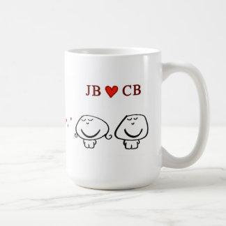 """""""JB heart CB"""" Mugs"""