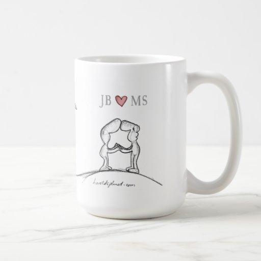 JB heart MS Coffee Mug