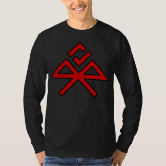 JBK Red & Black Bindrune (dark shirt) T-Shirt
