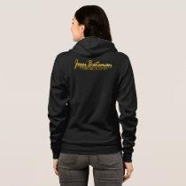 JBP Womens Black Zip-Up Sweatshirt