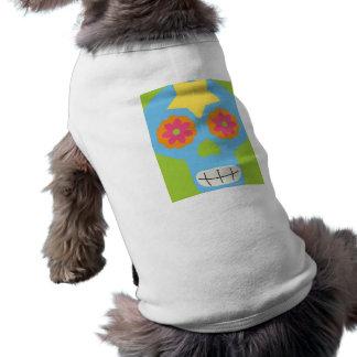 jc03 COLORFUL MEXICAN SKULL DECORATIVE CARTOON FLO Shirt