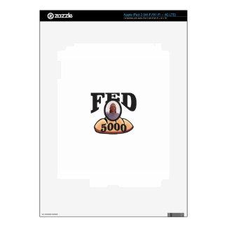 jc 5000 fed iPad 3 skin