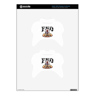 jc 5000 fed xbox 360 controller decal