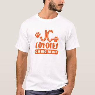 JC Coyote with paws T-Shirt