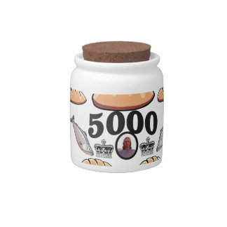 JC feeds 5000 souls Candy Jar